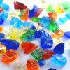 ダイソーのガラス絵の具を使ったガラスカレットの作り方